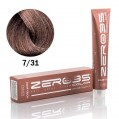 Краска для волос аммиачная sahara blonde 7/31 песочный блонд 100ml