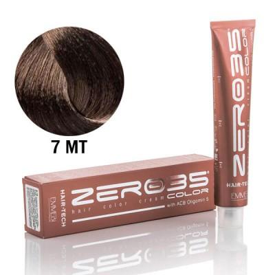 Краска для волос аммиачная matte blonde 7MT  матовый блонд 100ml
