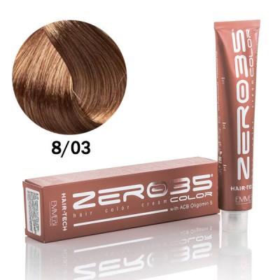 Краска для волос аммиачная Hair-Tech  light blond 8/0 светлый блондин 100ml