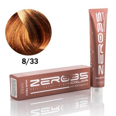 Краска для волос Hair-Tech 100ml light warm golden blond 8/33  светлый теплый золотистый блонд
