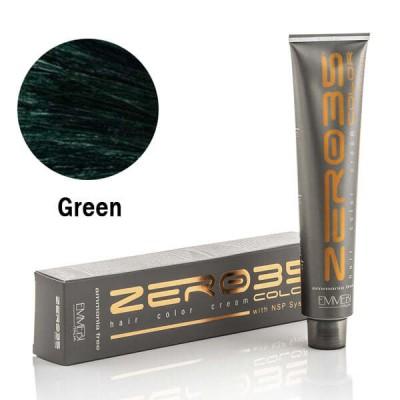 Краска для волос безаммиачнaя  Pure Pigment Green Зеленый 100ml