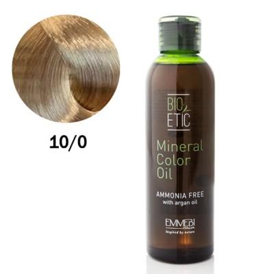 Краситель масляный для волос 10/0 экстра светлый натуральный блонд / extra light natural blonde Mineral Color Oil  150ml