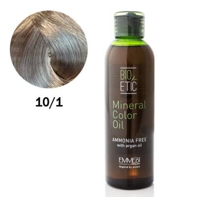 Краситель масляный  для волос  Mineral Color Oil 10/1 экстра светлый пепельный блонд / extra light ash blonde  150 ml