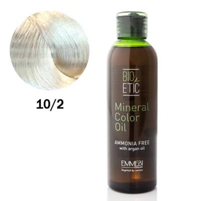 Краситель масляный для волос Mineral Color Oil  Extralight baby blonde 10/2  экстра светлый детский блонд 150ml