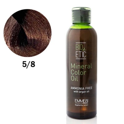 Краситель масляный для волос  Mineral Color Oil  coffee 5/8  кофе 150ml