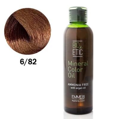 Краситель масляный для волос 6/82 какао / cocoa Mineral Color Oil 150ml