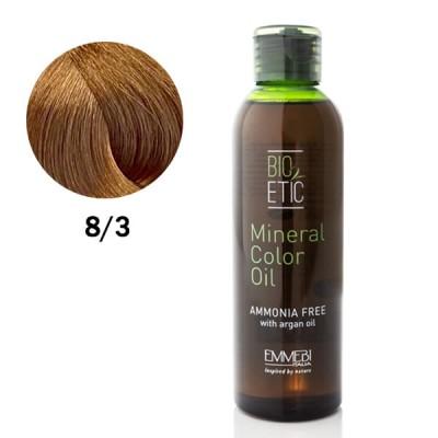 Краситель масляный для волос 8/3 светло-золотистый блонд / light golden blonde Mineral Color Oil 150ml