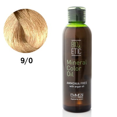 Краситель масляный для волос  very light blonde 9/0 очень светлый блонд Mineral Color Oil 150ml