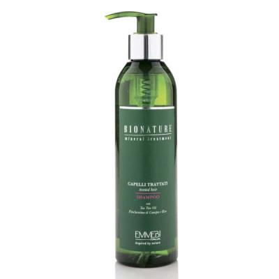 Шампунь для поврежденных волос BioNature Treated Hair Shampoo 250ml