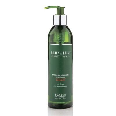 Шампунь для волос фактор роста BioNature Shampoo Fatt Crescita 250ml