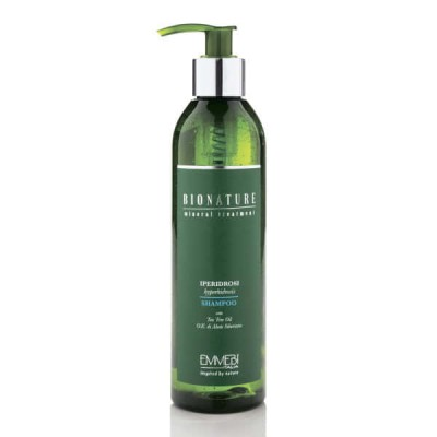 Шампунь для волос от гипергидроза BioNature Shampoo Iperidrosi 250ml