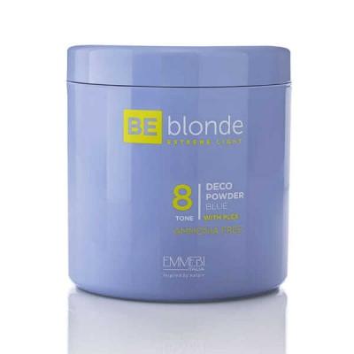 Осветляющая пудра Экстремальный блонд (голубой) Be Blonde Deco Powder Blue 8 500 грамм