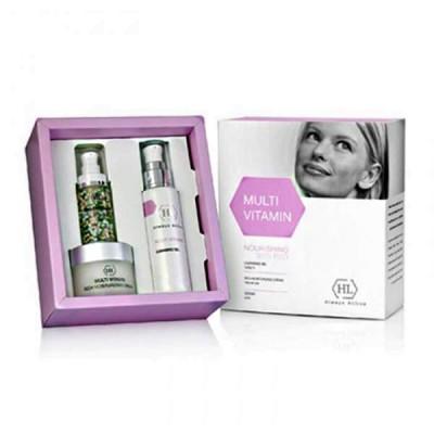 Набор косметики Multi Vitamin Kit (сыворотка 30мл + увлажн.крем 50мл + очищающий гель 125мл)
