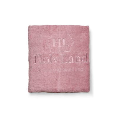 Полотенце HL розовое  50*90 Soft touch