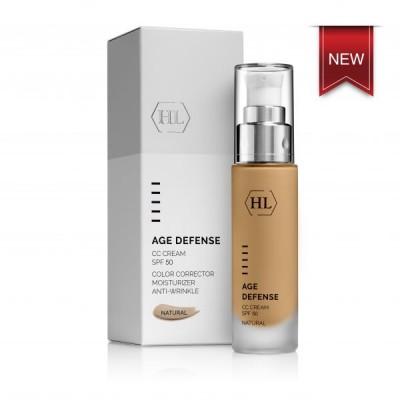 Age Defense CC Cream Natural SPF 50 - 50ml (СС крем для лица SPF 50)