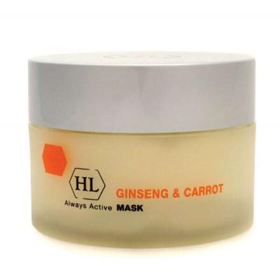 Маска для лица питательная Ginseng & Carrot Mask  250 ml
