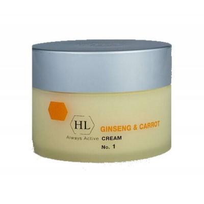 Крем для лица увлажняющий Ginseng & Carrot Cream 250 ml