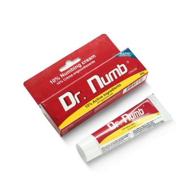 Крем Dr. Numb (Лидокаин 5% , Прилокаин 5% , Эпинефрин 0,1%) 30гр Канада