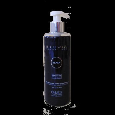 Тонирующая маска для волос Illum color Mask Black 300 ml