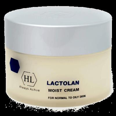 Увлажняющий крем для жирной кожи лица Lactolan Moist cream for oily skin