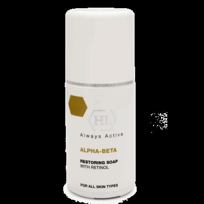 Востанавливающее жидкое мыло-пилинг для лица Restoring Soap  ALPHA-BETA RESTORING SOAP