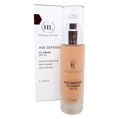 Крем для лица Age Defense CC Cream Light SPF 50