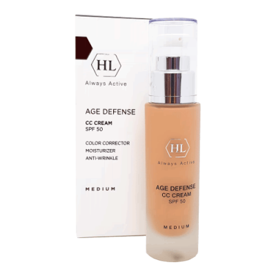 Крем для лица Age Defense CC Cream Medium SPF 50