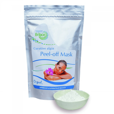 Альгинатная маска для лица лечебная Curative algin peel-off mask