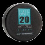 Матовый крем для волос сильной фиксации GATE 20 MATT CREAM STRONG 100 ml