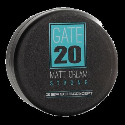 Матовый крем для волос сильной фиксации GATE 20 MATT CREAM STRONG