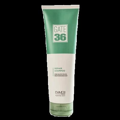Восстанавливающий шампунь для волос   GATE 36 OLIVA BIO REPAIR SHAMPOO