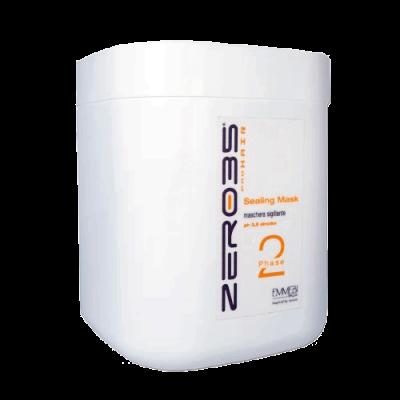 Маска для волос  глубокого восстановления с кератином и маслом манго для окрашенных волос ZER035 Pro Hair SEALING MASK