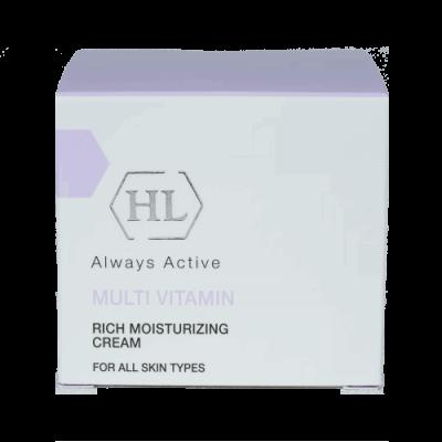 Увлажняющий крем для лица с комплексом витаминов Multi Vitamin rich moisturizing  cream