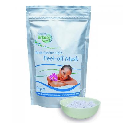 Альгинатная питательная маска для лица с экстрактом черной икры Rich Caviar algin peel-off mask