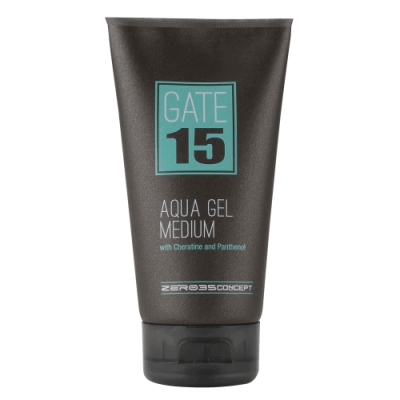 Аквагель для волос средней фиксации GATE 15 AQUA GEL MEDIUM 150 ml