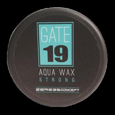 воск для волос сильной фиксации GATE 19 AQUA WAX STRONG