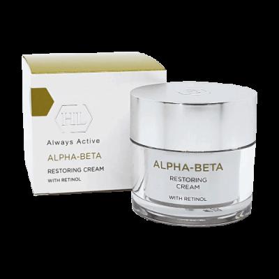 Восстанавливающий ночной крем для лица ALPHA-BETA RESTORING CREAM
